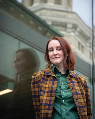 Image of Hannah Gunderman of Data Services.