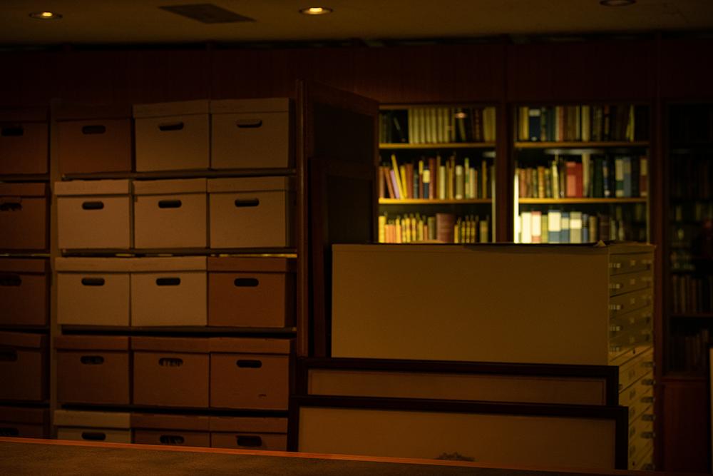 Fine and Rare Book Room Storage Space