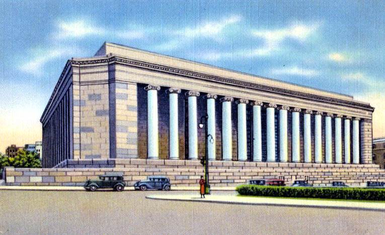 Postcard of Mellon Institute