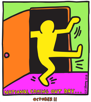 National Coming Out Day Logo