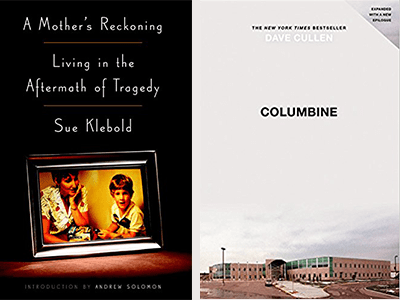 Book cover images for A Mother's Reckoning and Columbine